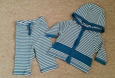 Baby Gap 0-3 Months Boys Outfit Top and Trousers