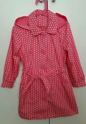 NEW!Girls lovely mac/raincoat age 7 years.