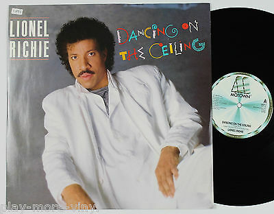"LIONEL RICHIE Dancing On The Ceiling 12"" vinyl UK 1986 Motown plays EX!"