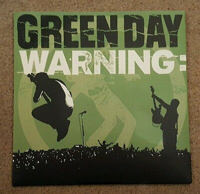 "Green Day 'warning' New And Unplayed 7"" Vinyl Single"