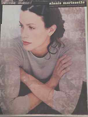 """ALANIS MORISSETTE-1993 """"SUPPOSED INFATUATION JUNKIE"""" Dry Mounted Prom.Poster"""