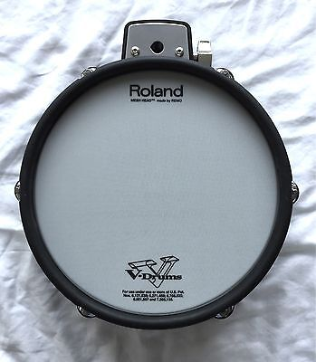 Roland PDX-100 10 Inch Dual Zone Mesh Electronic V Drum
