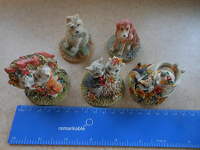 Rare Collectable Cats and Dogs Ornaments - Cute  Adorable