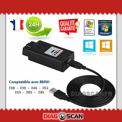 Valise Interface de diagnostic & programmation BMW SCANNER v1.4.0 OBD2 USB