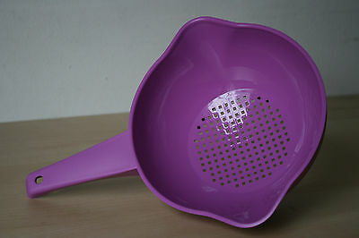 Tupperware 1 Liter  Colander Strainer with handle  New