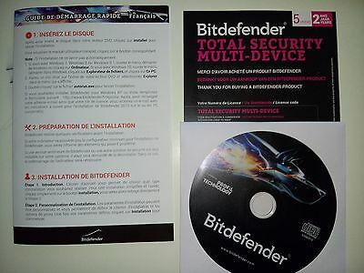 Bitdefender Total Security Multi-Device 2016 2ans