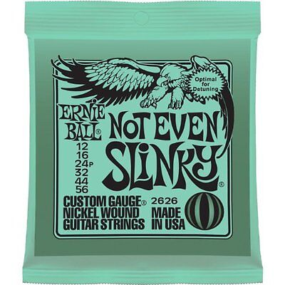 Ernie Ball 2626 Not Even Slinky Nickel Wound Electric Guitar Strings 12-56 F/S /