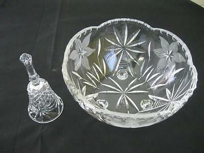 Crystal Bowl and Bell