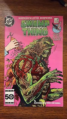Swamp Thing 43 Alan Moore DC Comics