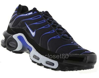 bfe32c44f9 ... italy nike air max plus tn tuned 1 dark navy blue white black mens  trainers 852630