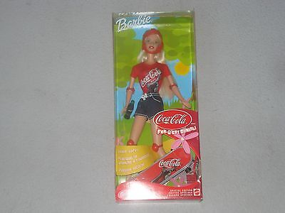 Coca-Cola Fun Barbie - With Skateboard, Coke Bottle and Skateboard Pads