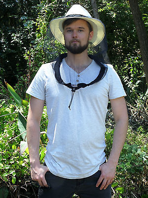 Deluxe Hat Net for Fly Mosquito Protection, Aus Made, adventure, hiking, camping