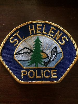 Oregon POLICE-  St. Helens Police  OR Police PATCH