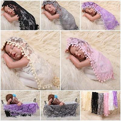 Babies lace Wraps Newborn Photography Accessories Baby Photo Props NEW!!