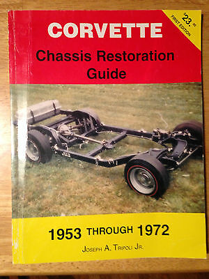 1953-1972 Corvette Chassis Restoration Guide C1 C2 C3 Rolling Body Off Sting Ray