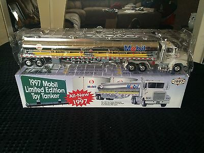 1997 Mobil Limited Edition Toy Tanker in original box