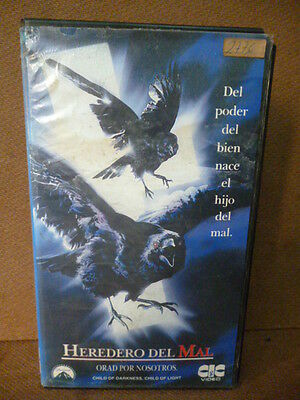 rare 1991 VHS CHILD OF DARKNESS, CHILD OF LIGHT Horror PAL-N ARGENTINA
