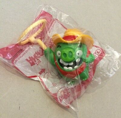 McDONALD'S HAPPY MEAL THE ANGRY BIRDS MOVIE LASSO PIG TOY