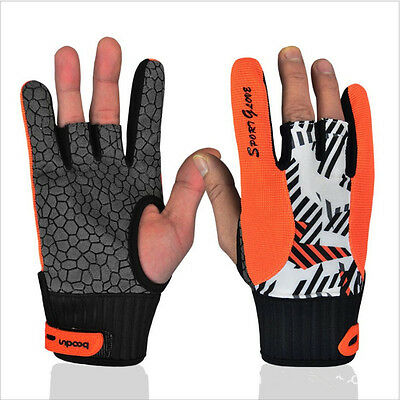 BOODUN Professional Anti-skid Bowling Gloves Sports Gloves For Bowling 2 Color