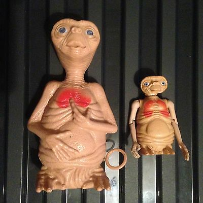 2 Vintage E.T The Extraterrestrial Toys 1982