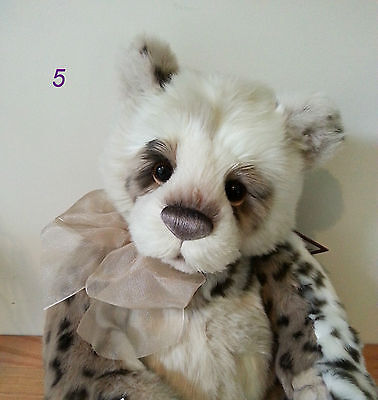 "New 2015 Handmade Collectable Fully Jointed Charlie Bears ""Giselle"" 41cm"