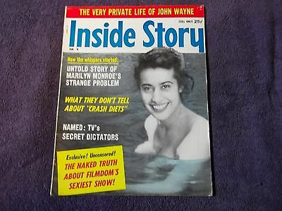 Inside Story Vol 8 #1 Jan 1961=Facts About People,the News &the World We Live In