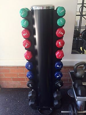 Deluxe Vertical Dumbbell Tower Storage