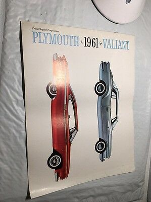 1961 Plymouth And Valiant Sales Brochure