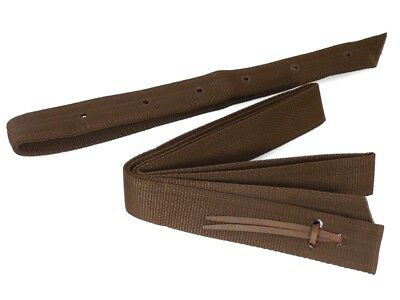 Set Nylon Off Billet and Tie Strap, Brown, Thor Equine
