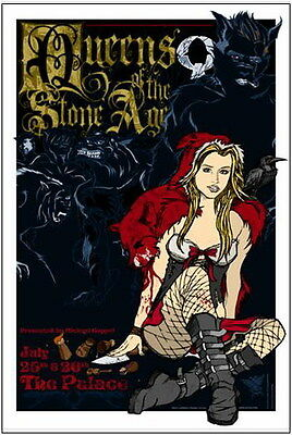 Rare Queens Of The Stone Age, Rhys Cooper Print Signed And Numbered