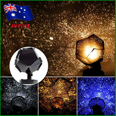 Star Sky Projector Night Light Bulb Lamp Romantic Cosmos Astro Galaxy Gift BO