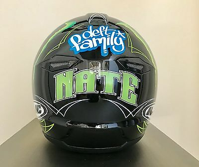 Nate Adams Monster Energy AP Designs HJC Helmet