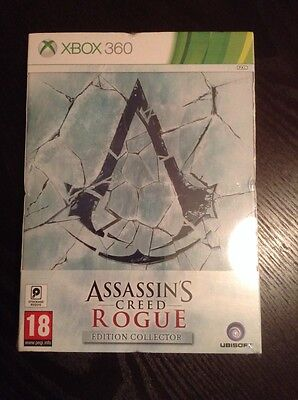 Assassin's Creed Rogue Edition Collector xbox 360 sous blister.