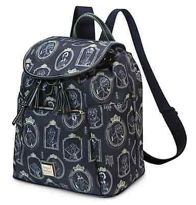 Disney Dooney & Bourke Haunted Mansion Portraits Backpack Purse Bag NWT