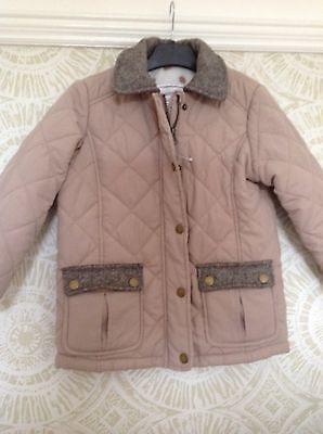 Matalan Girls Quilted Jacket BNWT Age 4-5