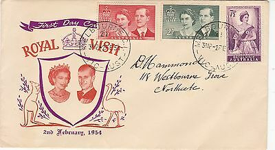 Australia 1954 Royal Visit  First Day Cover