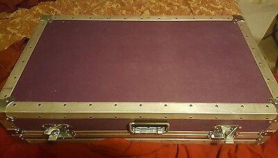 Huge Purple ata PEDALBOARD FREE USA SHIPPINg * PEDALS NOT INCLUDED *