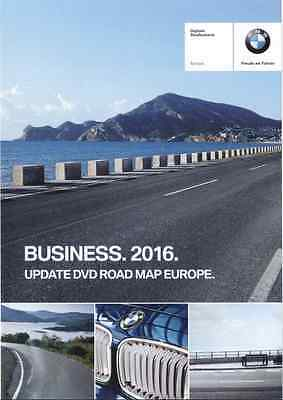 BMW Navigation DVD Road Map Europe - Europa BUSINESS 2016 (CCC)