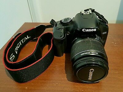 Canon EOS 450D twin lens kit with bag