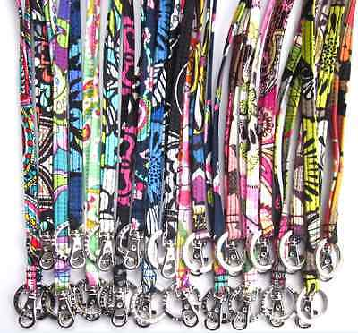 *New With Tags*Vera Bradley Lanyard Clip & Key Ring (Multi Color Available)