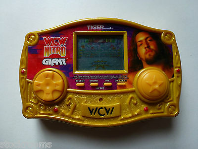 Tiger Wcw Nitro Giant Lcd Toy Game - Handheld Electronic Game