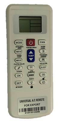COMPATIBLE REMOTE CONTROL for GENERAL ELECTRIC AIR CONDITIONER ARC733