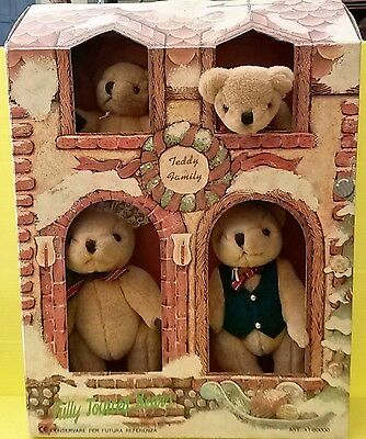 Ours en peluche Teddy Family 4 oursons -  jouet / collection...