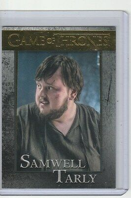 Game Of Thrones Season 5 Gold Base Card 35 Samwell Tarly 143/150