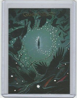 Game Of Thrones Season 5 Gold Beautiful Death Insert Card Bd28 139/150