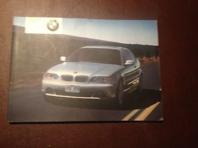 BMW 3 SERIES E46 COUPE  OWNERS MANUAL  HANDBOOK  2003 2006  Ci & Cd