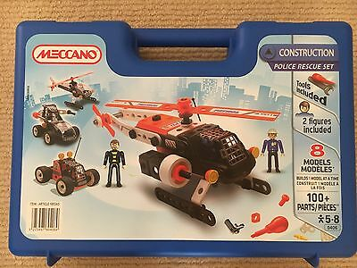 Meccano Police Construction Set