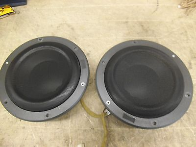 """Pair 8"""" Volvo C70 99-04 Convertible Behind rear seat back speakers right & left"""