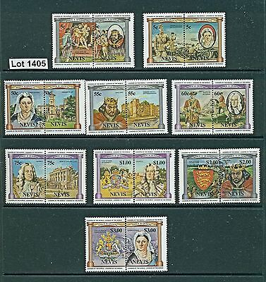 Lot 1405..Nevis..Leaders of the World-18 MNH stamps from 1984