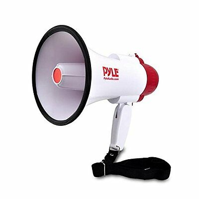 Pyle-Pro Electronics Features PMP30 Professional Megaphone/Bullhorn with Siren